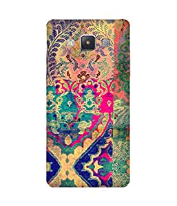 Textile Print India Printed Back Cover Case For Samsung Galaxy A5