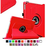 Fintie Apple iPad Air Case - 360 Degree Rotating Stand Case Cover with Auto Sleep / Wake Feature for iPad Air (iPad 5th Generation) 2013 Model, Red