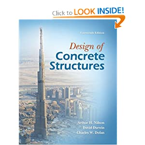 Design of Concrete Structures Arthur Nilson, David Darwin and Charles Dolan