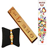 BOGATCHI Rakhi With Chocolates, Rakhi Gift Hamper, Rakhi With Sweets, Love You Bro, Free Rakhi, Happy Rakhi Chocolate...