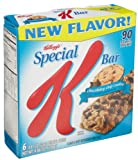 Special K Chocolatey Chip Cookie Bars, 6 Bars per Pack, Pack of 4