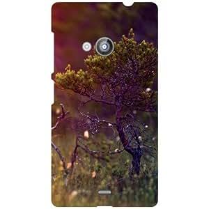 Nokia Lumia 535 Back Cover - Save Tree Save Life Designer Cases