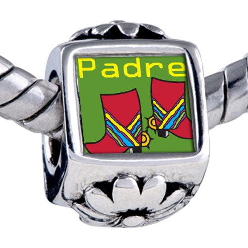 Pugster Bead Padre Colorful Boots Beads Fits Pandora Bracelet
