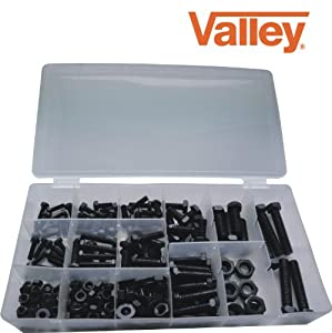 280 Pc BOLTS, NUTS, AND WASHERS ASSORTMENT