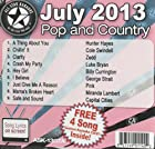 All Star Karaoke July 2013 Pop and Country Hits A (ASK-1307A)