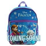 Disney Frozen Princess Elsa & Anna 16 Backpack with 1 Large Front Pocket