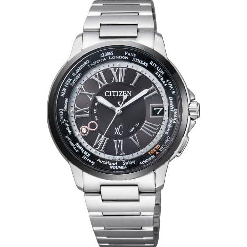[シチズン]CITIZEN 腕時計 xC クロスシー HAPPY FLIGHT Eco-Drive エコ・ドライブ 電波時計 ペアモデル 【数量限定】 CB1024-53E メンズ