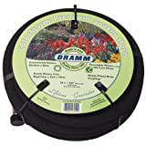 Dramm 17010 ColorStorm Premium 50-Foot-by-5/8-Inch Soaker Garden Hose, Black ~ Dramm