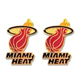 Miami Heat Post Stud Logo Earring Set Nba Charm