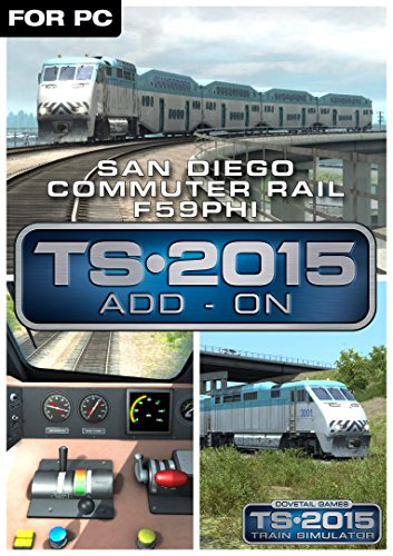 San Diego Commuter Rail F59Phi Loco Add-On [Download]