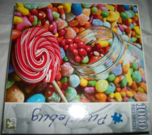 """Candy Overflow"" 1000 Piece Puzzle - 1"