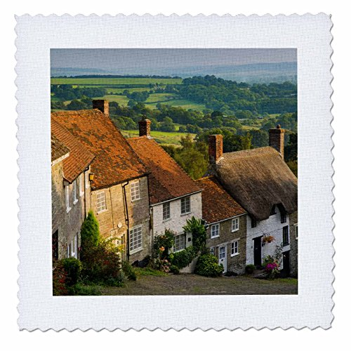 danita-delimont-houses-evening-at-gold-hill-in-shaftesbury-dorset-england-12x12-inch-quilt-square-qs