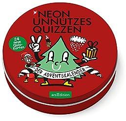 NEON Unnützes Quizzen: Der neue Adventskalender!