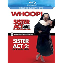 Sister Act: 20th Anniversary Edition - Two-Movie Collection (Three-Disc Blu-ray/DVD Combo)