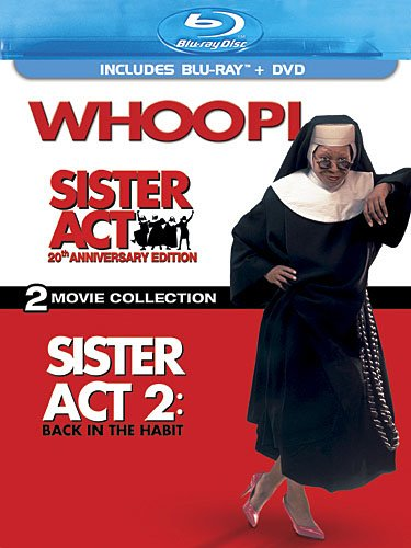 Cover art for  Sister Act: 20th Anniversary Edition - Two-Movie Collection (Three-Disc Blu-ray/DVD Combo)