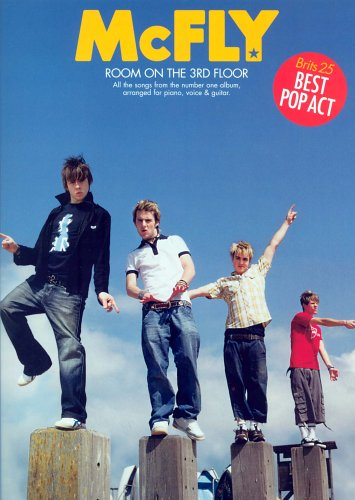 McFly: Room on the Third Floor, for Piano, Voice and Guitar