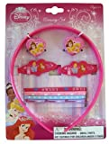 Disney Prnicess Collection 9pc Princess Hair Accessory Set - Disney Princess Headgear - Princess Accessories