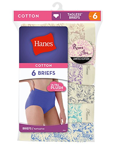 hanes-womens-roses-are-briefs-limited-edition-27319-10-assorted
