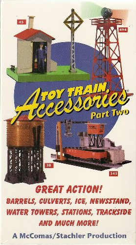 Toy Train Accessories Part Two VHS