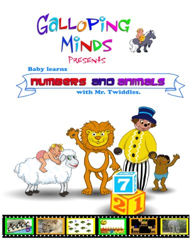 Baby Learns - Numbers And Animals With Mr. Twiddles [DVD]