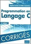 Corrig�s de Programmation en Langage C