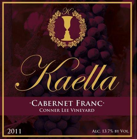 2011 Kaella Conner Lee Vineyard Cabernet Franc 750Ml
