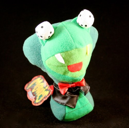 SNAKE EYES JAKE * MEANIES * Series 1 Bean Bag Plush Toy From The Idea Factory