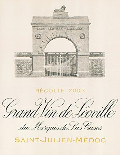 2003 Chateau Leoville Las Cases Saint Julien Bordeaux 1.5 L