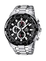 Casio EF-539D-1AVEF Mens Edifice Black Silver Watch