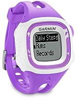 Garmin Forerunner 15 avec cardiofréquencemètre - Montre de running avec GPS intégré - violet/blanc
