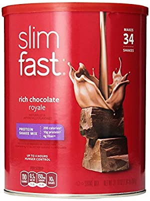 Slim Fast Rich Chocolate Royale Shake Mix Powder,