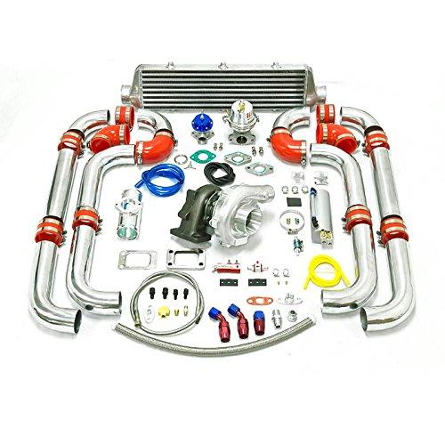 Universal Turbocharged Upgrade T04E T3 11pc Turbo Kit (Turbo Kits 350z compare prices)