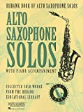 Rubank Book for Alto Saxophone Solos, Easy Level: With Piano Accompaniment