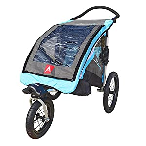 Allen Sports JTX-1 Trailer/Swivel Wheel Jogger Blue