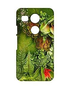 Mobifry Back case cover for LG Google Nexus 5X Mobile ( Printed design)