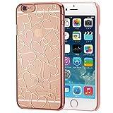 EDGEi Rose Gold HeartLine iPhone 6s / 6 (4.7インチ) エッジ ローズゴールド ハートライン アイフォンケース