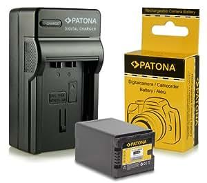 Chargeur + Batterie VW-VBN390 pour Panasonic Camcorder HDC-SD800   HDC-SD900   HDC-SD909   HDC-TM900   HDC-HS900   HC-X800   HC-X900   HC-X900M   HC-X909   HC-X910   HC-X920   HC-X920M