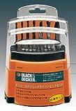 BLACK&DECKER 23pcsドリル・スクリュードライバービットセット 15095JP