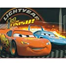 Childrens/Kids Boys Disney Cars Fleece Blanket/Bed Throw