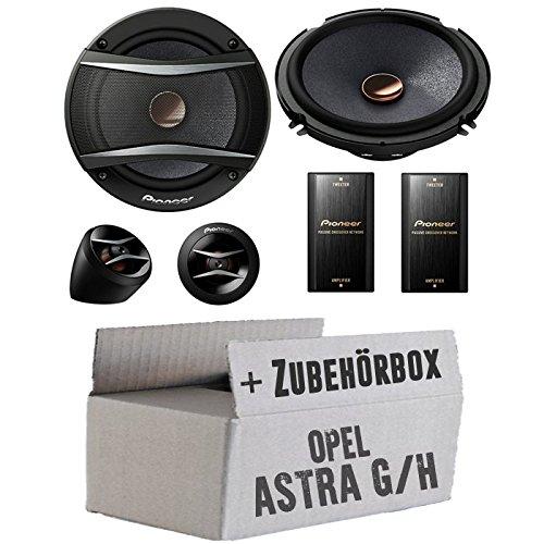 Opel Astra G,H - Pioneer TS-A173Ci 2-Wege 16cm Lautsprecher System - Einbauset