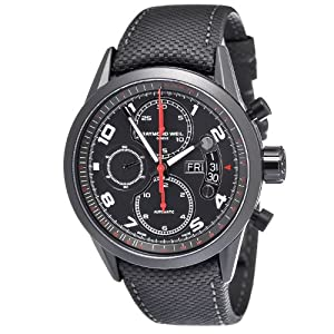 Raymond Weil Freelancer Automatic Chronograph Urban Black PVD Steel Mens Watch 7730-BK-05207