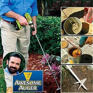 Why Choose The Awesome Auger Professional Gardening Tool