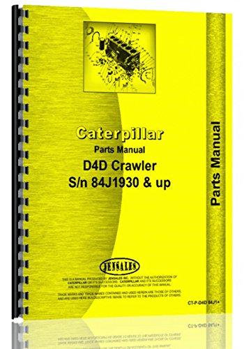 D4D Crawler Caterpillar Parts Manual