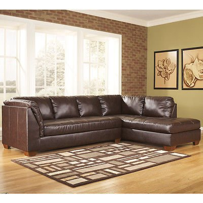 ashley-fairplay-sectional-with-right-side-facing-chaise-mahogany-soft-leather