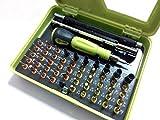 53 in 1 Set Präzision Werkzeug Schraubendreher Torx Kreuz Schlitz