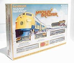 Bachmann Mckinley Explorer Ready - to - Run N Scale Train Set