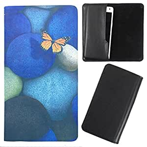 DooDa - For Micromax Canvas Fire 4G PU Leather Designer Fashionable Fancy Case Cover Pouch With Smooth Inner Velvet