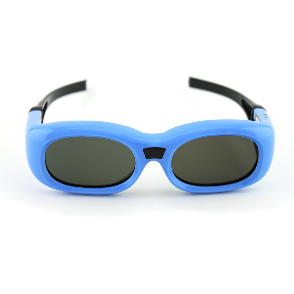 Blue G7 Kids Universal 3D Glasses by Quantum 3D pearl detail bell sleeve v chock neck bodysuit