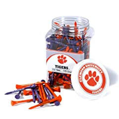 Brand New Clemson University Tigers 175 imprinted Tee Jar by Things for You