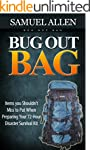 Bug Out Bag: Items you Shouldn't Miss...